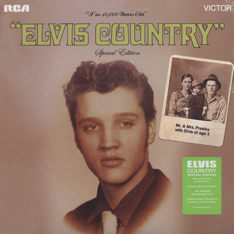 Elvis Country – 2 LPs Special Edition (FTD 132)