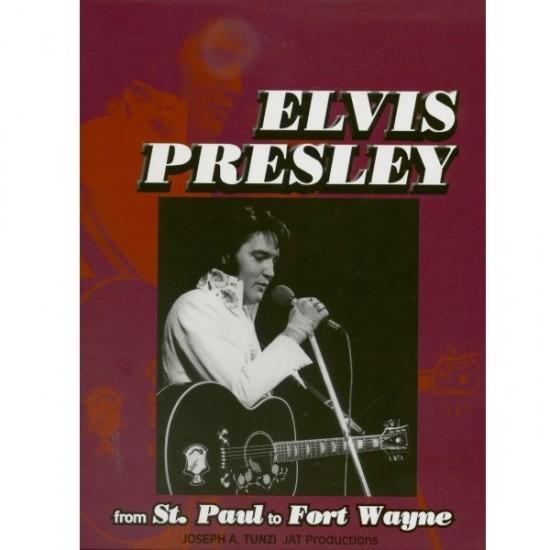 Elvis Presley from St. Paul to Fort Wayne